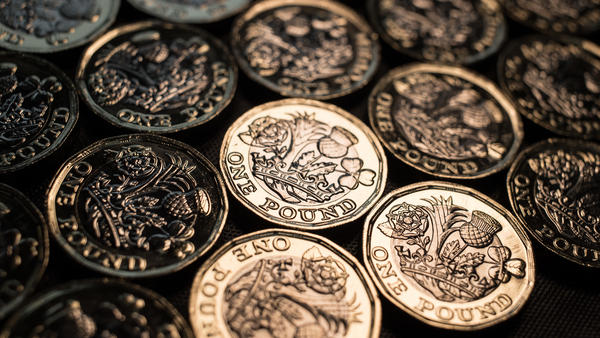 The new pound coin inspired the funniest joke of the Edinburgh Fringe Festival in Edinburgh, Scotland, this year.