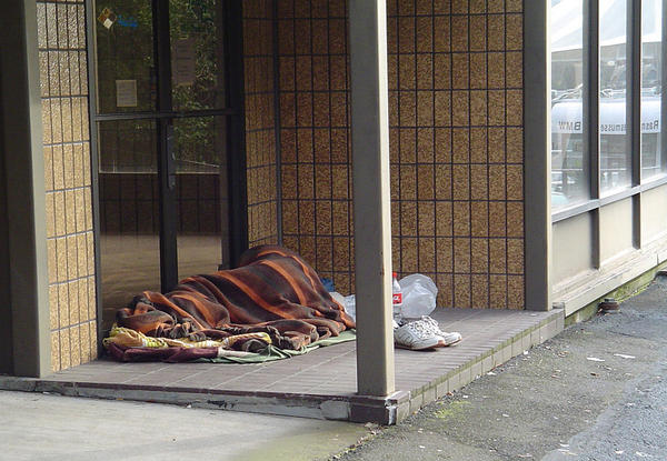File photo. A biennial count of Oregon's homeless population turned up nearly 14,000 homeless people in the state--a 6 percent increase since the last tally.