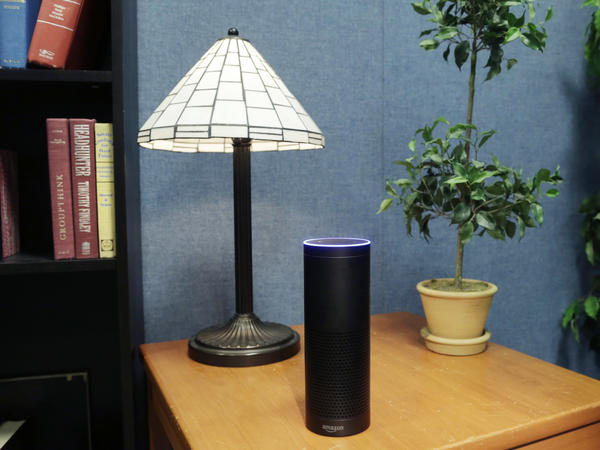 Amazon's Alexa-powered Echo currently dominates in voice-activated speakers.