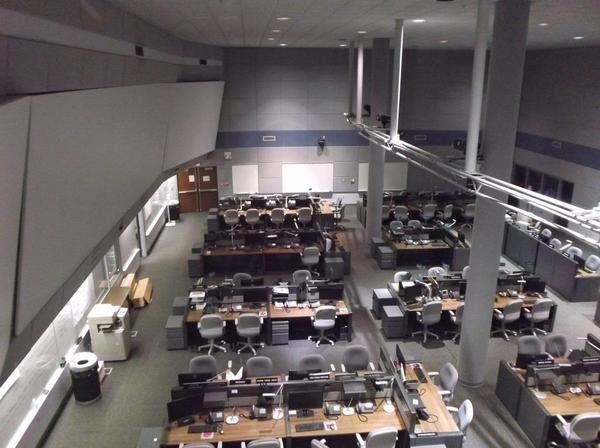 The state's Emergency Operations Center has been mobilized several times since it was completed in 1994.
