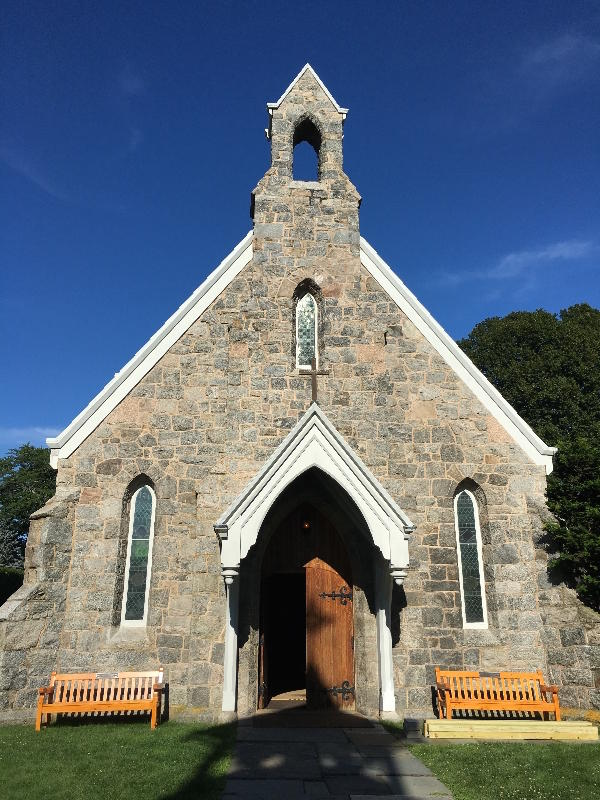 Calvary Episcopal Church in Stonington.