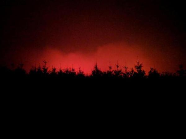 <p>Chetco Bar Fire on Aug. 20, 2017</p>
