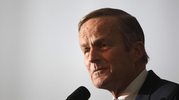 "Rep. Todd Akin, R-Mo., says Rep. Paul Ryan, R-Wis., the GOP vice presidential candidate, asked him to end his Senate bid after recent comments he made referring to ""legitimate rape."""