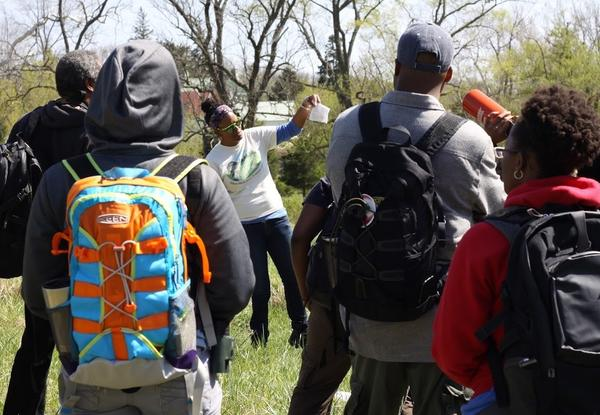 When she's not working as a civil rights attorney, Zoe Polk is training other Outdoor Afro leaders on how to guide novices and experts on excursions in nature.