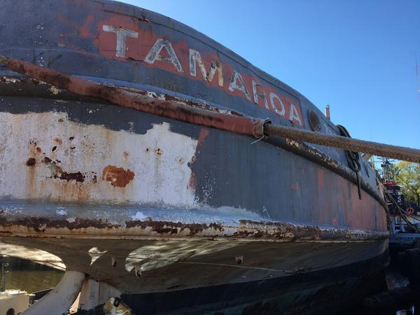 Zuni-Tamaroa in Norfolk, Virginia shipyard