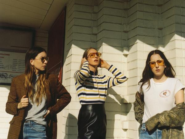 Haim's latest album, <em></em><em>Something To Tell You,</em> is out on Columbia Records.