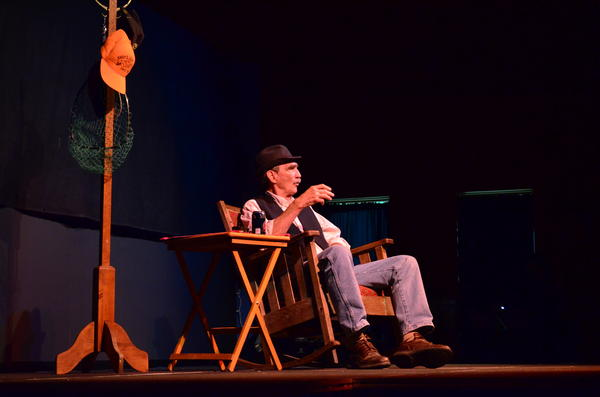 "Jay Stielstra performs his one-man show, ""Old Man in Love."""
