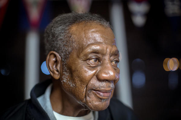 """Charles """"Bob"""" Martin, 87, is the longest-standing member of Seafarers Yacht Club in Washington, D.C."""