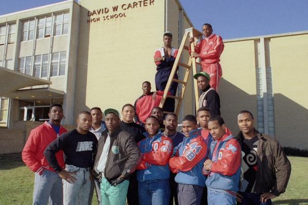 """The 1988 Carter High School football team won that year's Texas state championship. Filmmaker Adam Hootnick says, """"For a lot of people, that's the top."""""""
