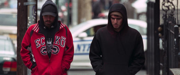 Robert Pattinson (left) and Benny Safdie star as brothers Connie and Nick Nikas.