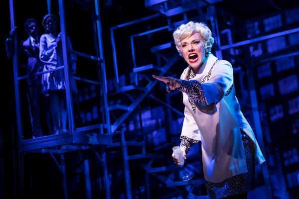 "Emily Skinner performs ""The Ladies Who Lunch"" from <em>Company, </em>featured <em></em>in <em>Prince of Broadway, </em>a musical celebration of Hal Prince's career. The show is directed by Prince, with a script by David Thompson, music supervision by Jason Robert Brown and co-direction and choreography by Susan Stroman."