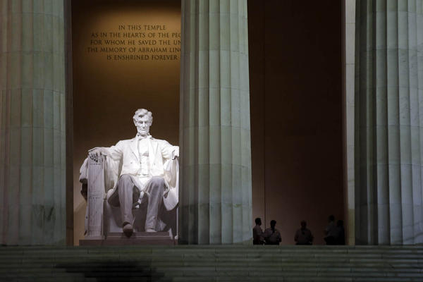 The Lincoln Memorial in Washington D.C. (Alex Brandon/AP)