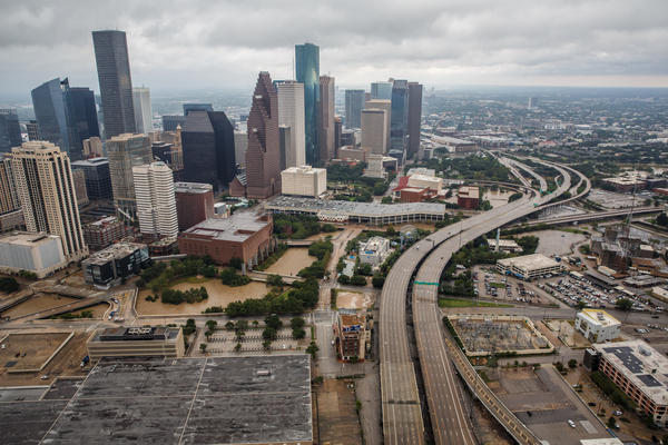 Parts of Houston remain flooded, but most hospitals are up and running, according to Darrell Pile, CEO of the Southeast Texas Regional Advisory Council, which manages the catastrophic medical operations center in Houston.