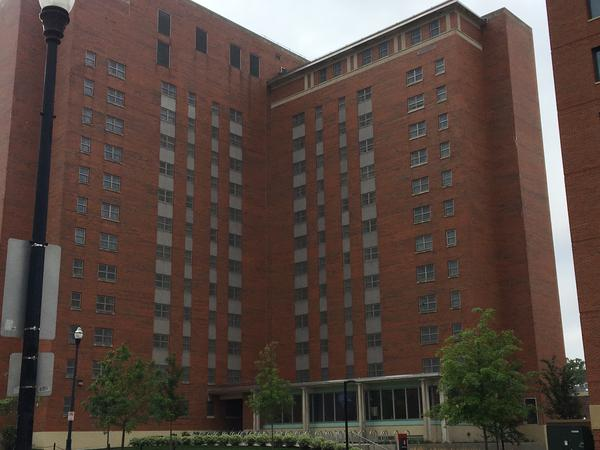Another OSU dorm without signs in windows