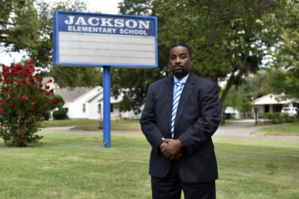 Charles Henry, a board member of the Oklahoma City Public Schools, is a proponent of changing the name of Jackson Elementary School and several other schools in the district.