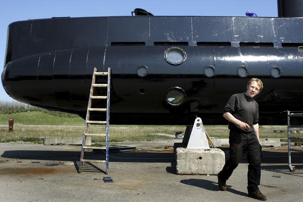 Peter Madsen, seen around the time he launched his submarine in 2008.