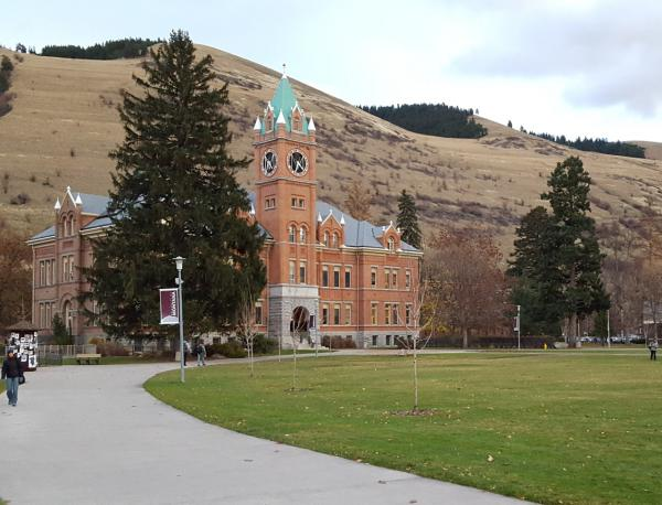University of Montana's Main Hall.