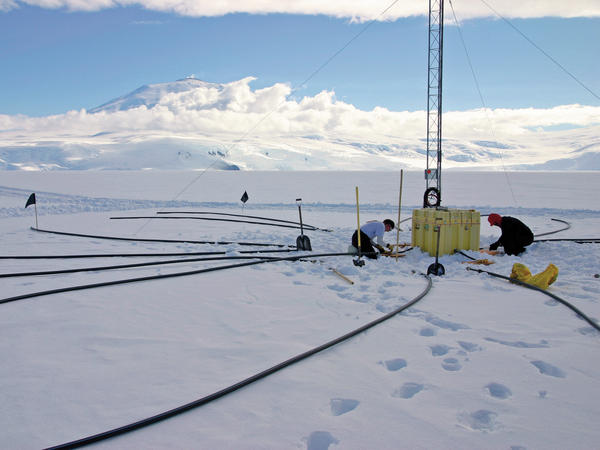 Remote monitoring stations, such as this one in Antarctica, keep constant watch for nuclear tests.