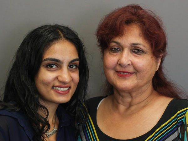 Talat Hamdani and her niece, Armeen Hamdani, visited StoryCorps to remember Talat's son Salman, who died on Sept. 11, 2001.