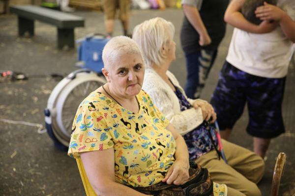 """<p>Betty Rush said her faith is getting her through the evacuation. """"(God) is telling me right now that Cascade Locks is going to be ok,"""" she said.</p>"""