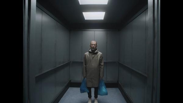 """A still from Radiohead's """"Lift"""" video."""
