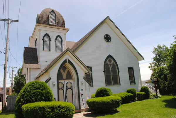 Many of Fairborn's Victorian era architecture actually came from the lost town of Osborn