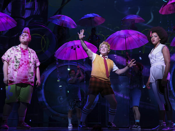 The original Broadway cast recording of <em>SpongeBob SquarePants The Musical</em> is out Sept. 22.