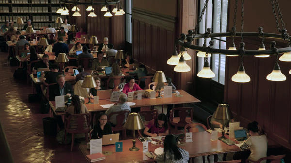 Shelf-Awareness: The Reading Room of the New York Public Library, featured in <em>Ex Libris</em>.