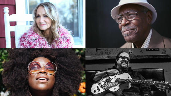Don't miss live performances from (counterclockwise from top left) Joan Osborne (photo: Jeff Fasano), Don Bryant (photo: Matt White) and Raul Malo (photo: John Partipilo) and Yola Carter.