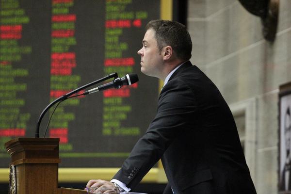 GOP Rep. Elijiah Haahr of Springfield was chosen to be House speaker starting in 2019.