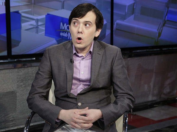 Martin Shkreli is interviewed on the Fox Business Network after his conviction on securities fraud charges in August 2017.