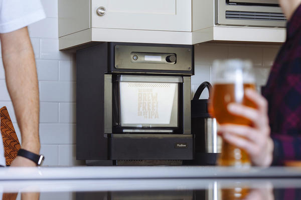 "The Pico C is an automated beer-brewing device, or ""beerbot,"" that can be monitored remotely from a smartphone or tablet."