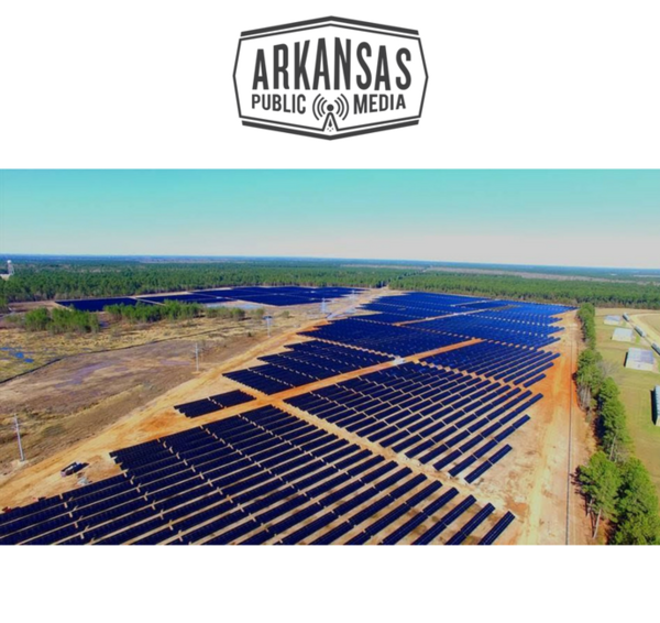 Ouachita Electric Cooperative Corporation's 76-acre, 12 megawatt solar farm in East Camden