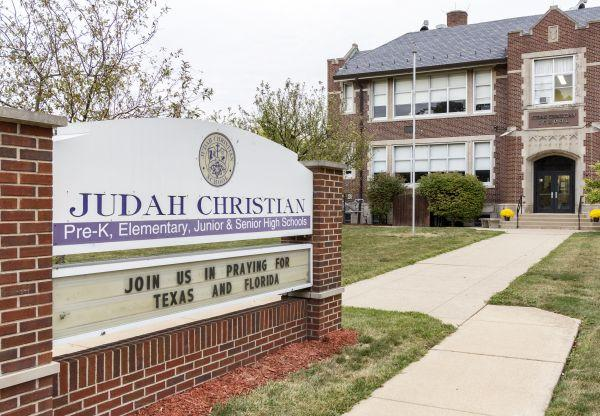 Judah Christian School in Champaign could benefit from the school scholarship tax credit pilot program included in Illinois' new education funding reform law.