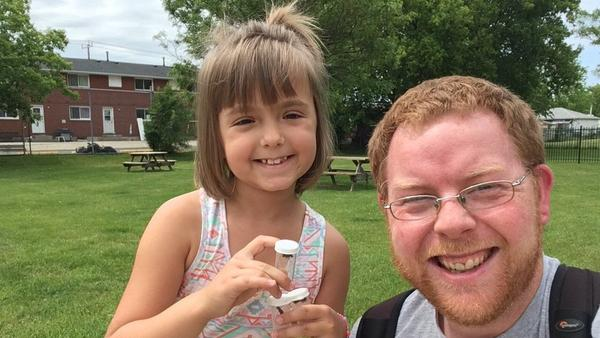 Sophia Spencer and Morgan Jackson co-wrote a scientific paper on Twitter, entomology and women in science, after a tweet about Sophia's love for bugs went viral.