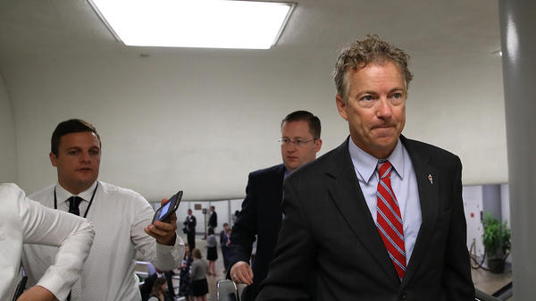 "Sen. Rand Paul, R-Ky., has called the legislation that could be Republicans' last hope to repeal the Affordable Care Act ""a really crappy bill."""