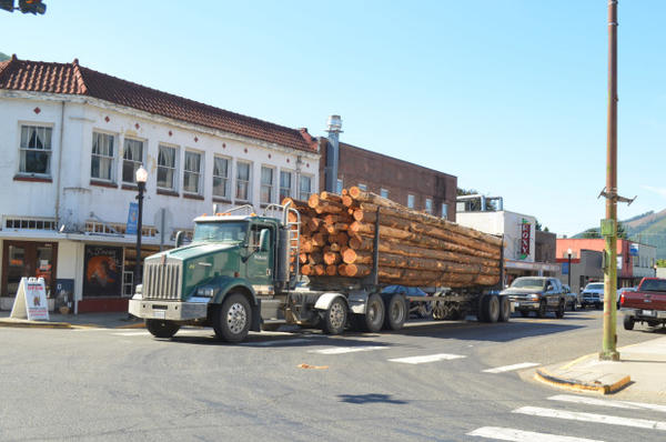 <p>Morton, Wash., was once a booming logging town.</p>