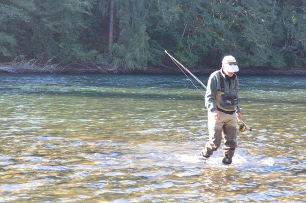 <p>Steve Jones has been fishing the Cowlitz for 30 years.</p>