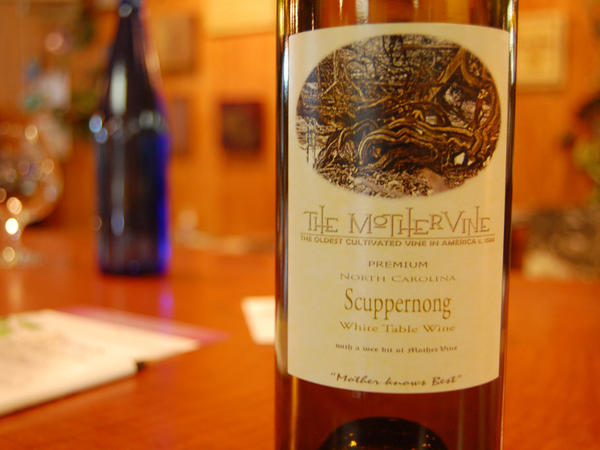 Scuppernong White Table Wine from Duplin Wine Cellars