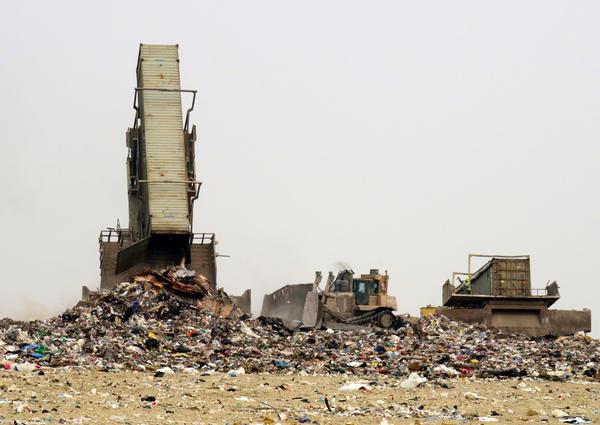 The Roosevelt Regional Landfill in Klickitat County, Washington, receives household trash from as far away as Sitka, Alaska.