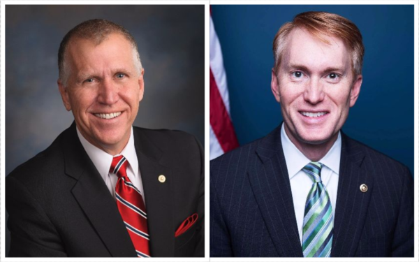 Senators Thom Tillis and James Lankford are sponsors of a conservative alternative to the Dream Act.