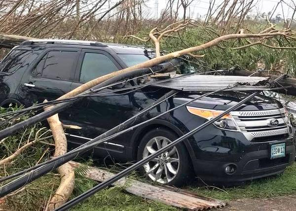 St. Croix devastation after the category 5 Hurricane Maria.