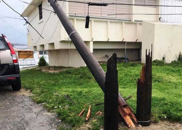 St. Croix after Hurricane Maria.