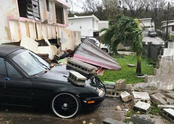 Hurricane Maria's power tossed concrete blocks around like children's toys on St. Croix.