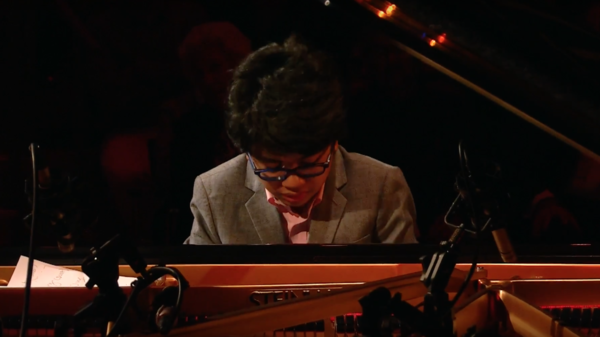Joey Alexander, in performance at Lincoln Center's Appel Room.