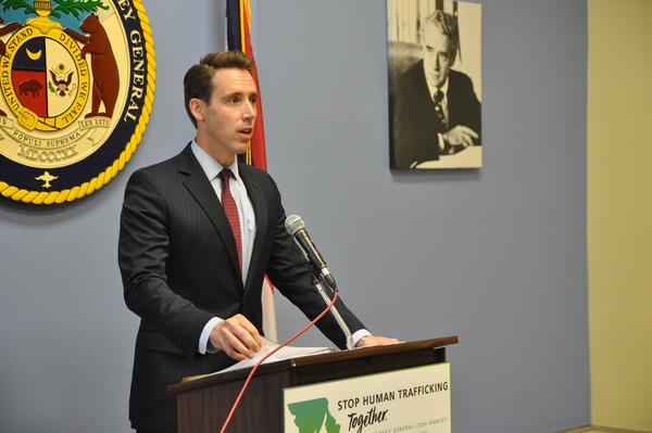 Missouri Attorney General Josh Hawley