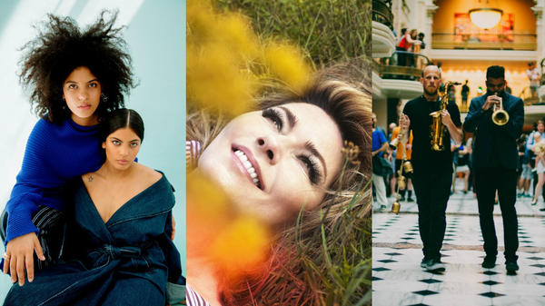 New albums from Ibeyi, Shania Twain and the free jazz ensemble Irreversible Entanglements are out today.