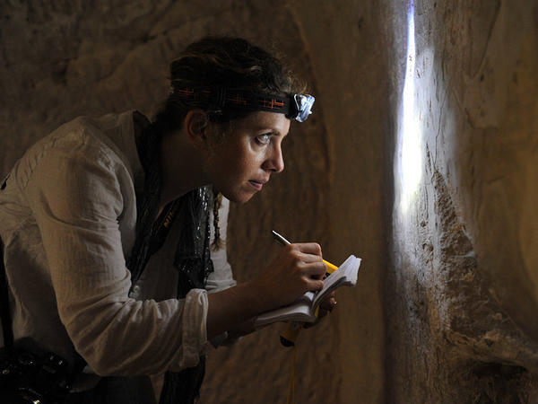 Karen Stern, 35, is an archaeologist studying tomb graffiti in Israel.