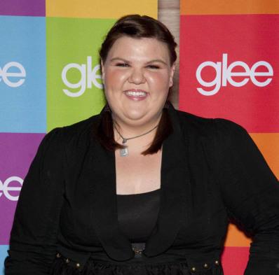 "Actress Ashley Fink arrives at a <em>Glee</em> screening in Hollywood, Calif. Fink previously starred in ABC Family's <em>Huge </em>and the film <a href=""http://www.fatgirls-themovie.com/""><em>Fat Girls</em></a>."