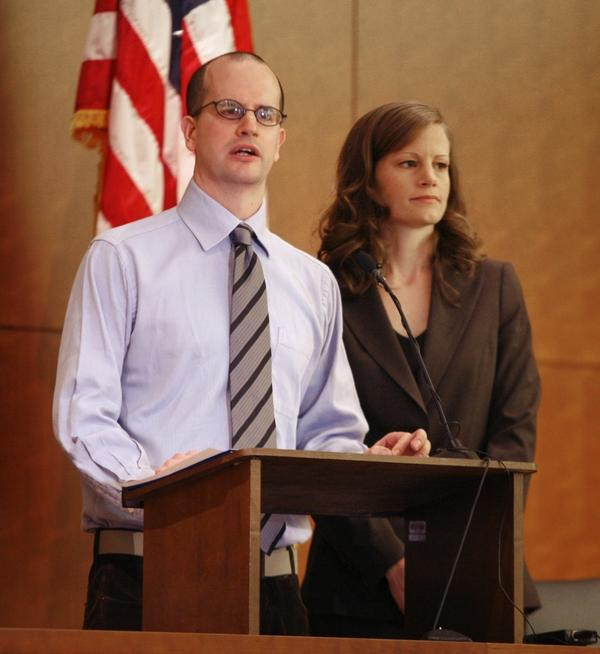 "<p>Amy Wales and her brother Tom gave a press conference on the fifth anniversary of their father's murder in 2006. They haven't given up on finding their father's murderer, and are working with the FBI. Amy says of the murderer: ""He should not be free to roam."" </p>"
